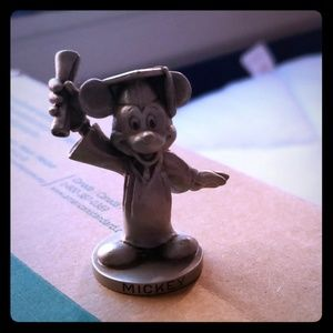 Other - Walt Disney Productions Pewter Mickey Graduates